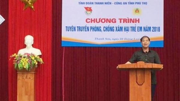 Thông tin bất ngờ về hiệu trưởng bị .tố d.âm ô nhiều nam sinh ở Phú Thọ
