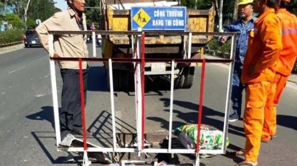 TP.HCM: Ăn cắp hàng loạt nắp hố ga lấy tiền tiêu xài Tết?