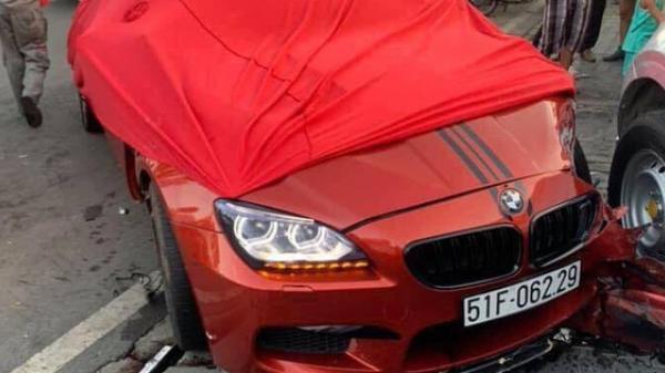 Thanh niên 22 tuổi lái ô tô BMW gần 7 tỷ đồng gây tai n ạn liên hoàn khai gì?