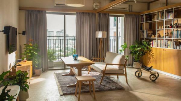 Căn hộ 70m² ở Sài Gòn đẹp không chê được điểm nào, điều kì diệu chính là tấm rèm