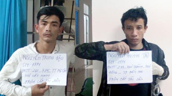 Lực lượng Cảnh sát 113 bắt giữ đối tượng t.rộm că'p tài sản lộng hành ở Bến Tre