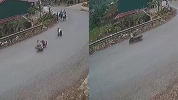 10 xe máy tự ngã trong một tháng 'như có ma' tại khúc cua ở gần Phú Thọ