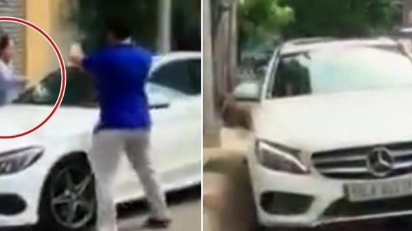 [VIDEO] Bị thách thức, cụ bà đập n.át xe Mercedes đỗ trước cửa nhà ở Sài Gòn