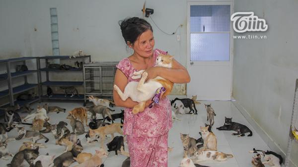 'Người đàn bà điên' cưu mang mèo hoang ở Sài Gòn: Chấp nhận đơn độc, cắt đứt mọi liên lạc với người thân