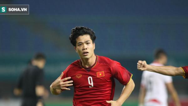 Clip: Sau đúng 1 năm, Công Phượng lại đệm bóng xé lưới đối thủ, làm vỡ òa CĐV Việt Nam