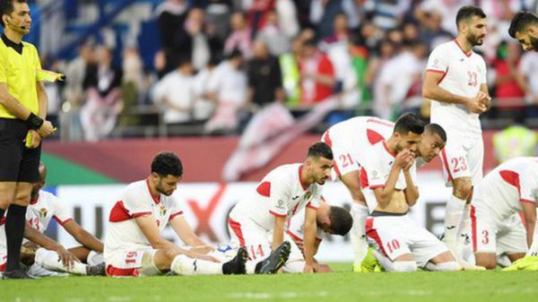 Đội tuyển Jordan bị phạt nặng sau màn so tài với Việt Nam tại Asian Cup