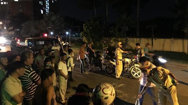 Một phụ nữ bị xe bồn cán c hết giữa đêm ở Sài Gòn