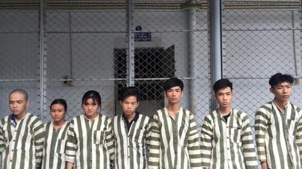 TP.HCM: Bắt 7 sinh viên dàn cảnh cướp tài sản trước siêu thị Lotte