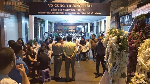 Lãnh đạo TP.HCM đến chia buồn với gia đình bà Nguyễn Thị Thu trong đêm