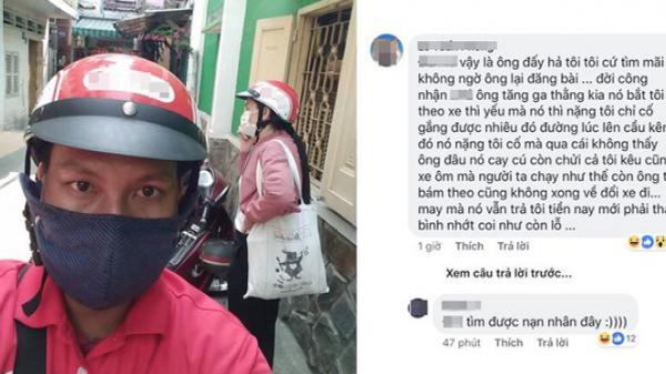 C hết cười 2 anh xe ôm công nghệ ở Sài Gòn chở cặp đôi đuổi bắt nhau như phim hành động trên phố