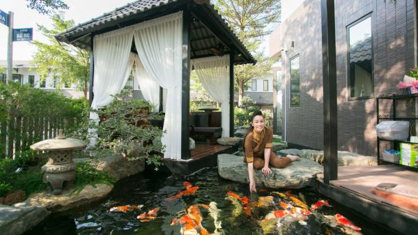 Biệt thự hàng trăm m2 siêu hoành tráng của Nhật Kim Anh giữa Sài Gòn