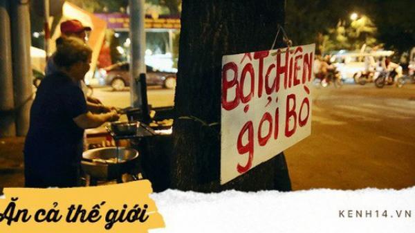 Sài Gòn có những quán ăn lâu đời vài thập kỷ cho dù không cửa hàng, không biển hiệu