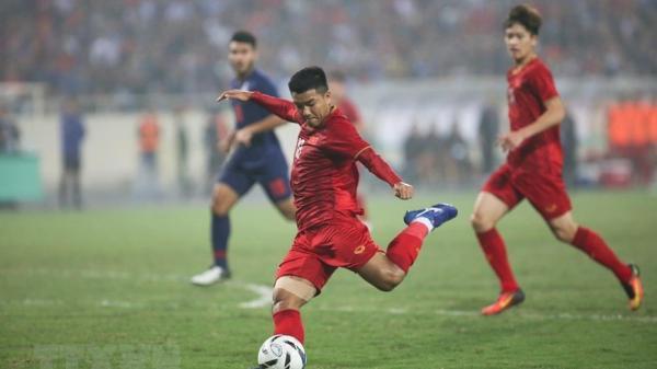 Cận cảnh khoảnh khắc chân sút Phú Thọ sút tung lưới U23 Thái Lan