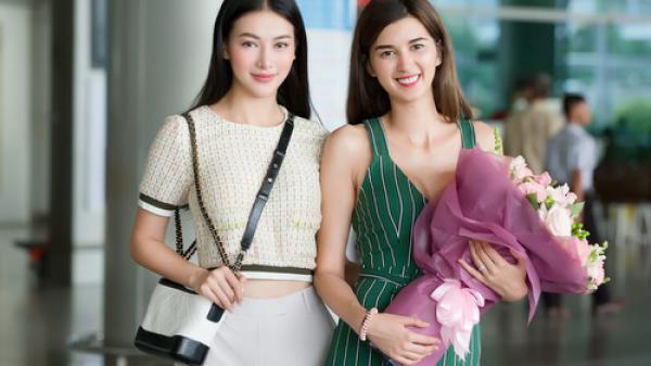 Người đẹp Bến Tre Phương Khánh đón Á hậu 1 Miss Earth 2018 đến Việt Nam
