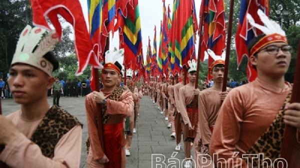Chương trình tổng thể hoạt động Giỗ Tổ Hùng Vương - Lễ hội Đền Hùng năm Kỷ Hợi 2019