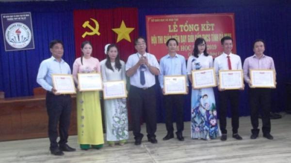 Cà Mau: 84 giáo viên đạt danh hiệu giáo viên dạy giỏi THCS cấp tỉnh
