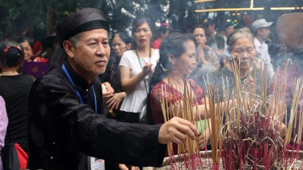 Phú Thọ: Độc đáo việc thi tuyển cụ Từ tại Khu di tích lịch sử Đền Hùng