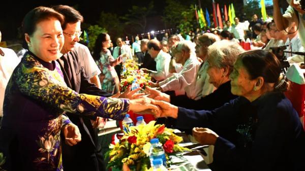 Chủ tịch Quốc hội Nguyễn Thị Kim Ngân dự Lễ công bố quyết định TP Bến Tre là đô thị loại II