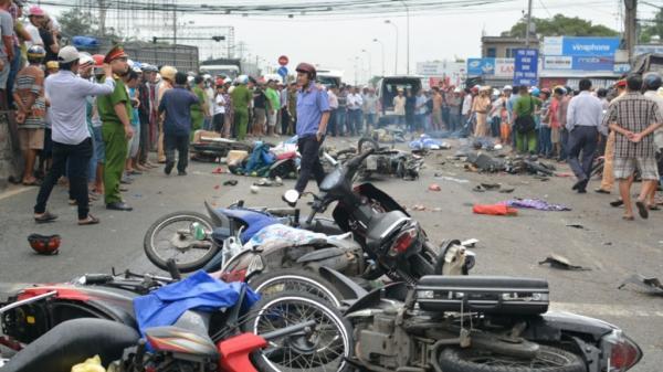 Rùng mình số người chết vì tai nạn giao thông trong 5 ngày nghỉ lễ