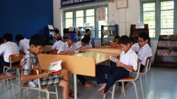 Cà Mau: Thêm 18 trường Tiểu học triển khai Thư viện thân thiện