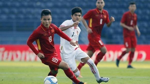 Giao hữu U23 Việt Nam - U23  Myanmar tại Phú Thọ
