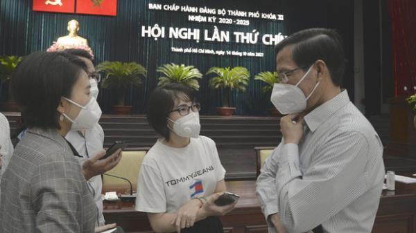 """Chủ tịch Phan Văn Mãi: """"Chưa thể nói TP.HCM đã trở lại trạng thái bình thường mới"""""""