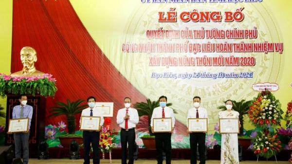 Thành phố Bạc Liêu hoàn thành nhiệm vụ xây dựng nông thôn mới