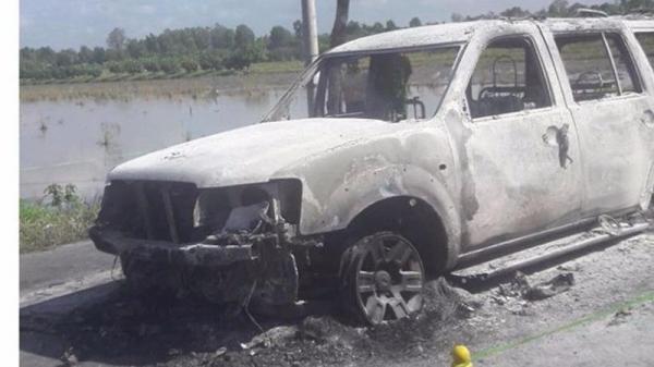 Diễn biến mới vụ con gái thuê người đốt xe làm cha chết