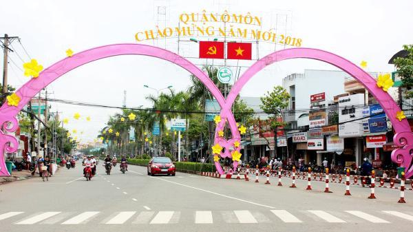Cần Thơ: Ô Môn chỉnh trang đô thị đón Tết