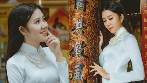 """Thiếu nữ Cần Thơ duyên dáng, xinh đẹp như """"Cô Ba Sài Gòn"""" trong tà áo dài"""