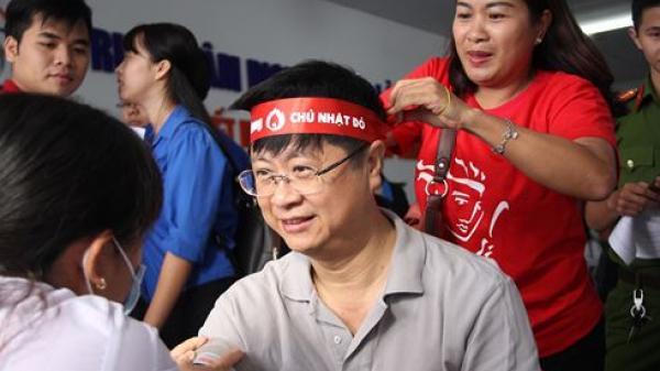 Hàng ngàn người dân tham gia hiến máu tại Cần Thơ