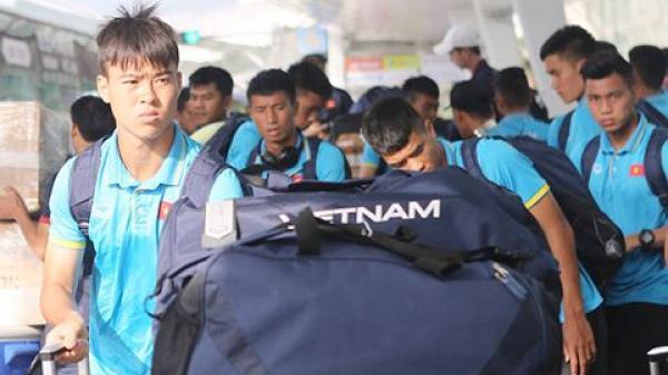 U23 Việt Nam xin gia hạn visa, đề phòng trận chung kết bị hoãn vì thời tiết