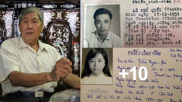 Câu chuyện bất ngờ sau hàng nghìn tấm thẻ sinh viên trước năm 1975 được nguyên giảng viên Trường ĐH Cần Thơ lưu giữ