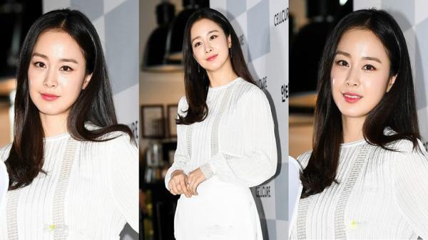 Kim Tae Hee lộ diện chính thức hậu sinh con: Đẹp khó tin, nhưng vóc dáng của cô mới là điều gây bất ngờ nhất