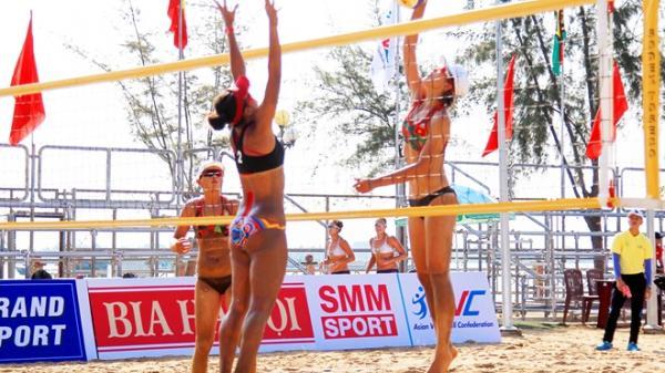 18 đội bóng chuyền bãi biển mạnh nhất Châu Á tranh tài tại Cần Thơ