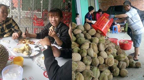 Cực HOT: Sầu riêng ăn trả hột 20.000 đ/kg đã về tới Cần Thơ, thu hút hàng ngàn người tới ăn