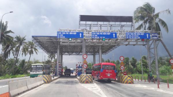 284 phương tiện được giảm phí khi qua Trạm BOT, QL91 Cần Thơ-An Giang