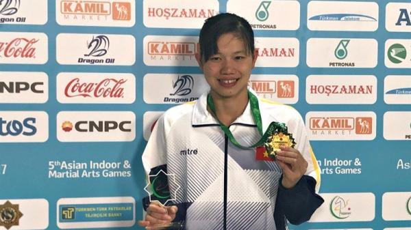 Ánh Viên giành HCV, phá kỷ lục của chính mình tại Đại hội thể thao trong nhà và võ thuật châu Á
