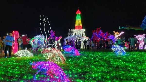 Cần Thơ ơi, cùng chờ đón lễ hội ánh sáng rực rỡ và hoành tráng với hàng triệu bóng đèn Led