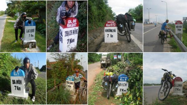 Chàng trai Cần Thơ 18 tuổi đã đạp xe xuyên Việt theo đuổi đam mê