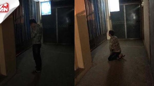 Người yêu đi khách sạn với người yêu cũ, chàng trai quỳ gối đợi trước cửa suốt 2 tiếng
