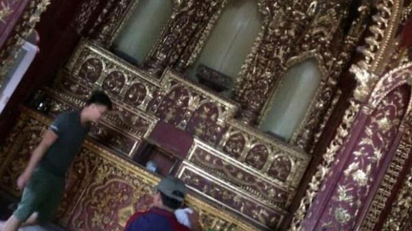 Nhà thờ cổ bị kẻ gian đ.ộ.t n.h.ậ.p, lấy đi kiệu vàng 120 năm tuổi