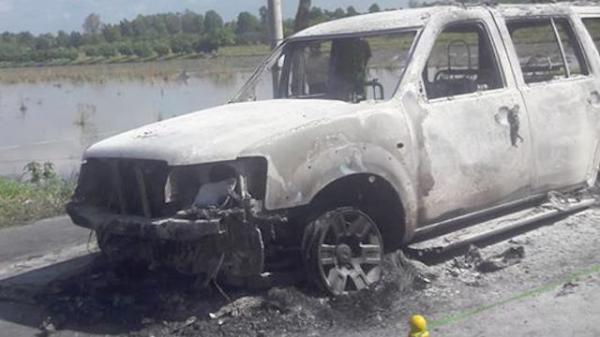 Lời khai chấn động vụ con gái chủ mưu đốt xe ô tô khiến cha tử vong
