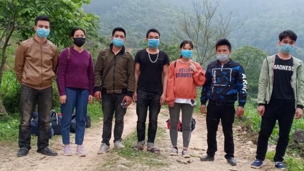 Đồn BPCK Sóc Giang: Tiếp nhận 13 công dân nhập cảnh trái phép vào Việt Nam