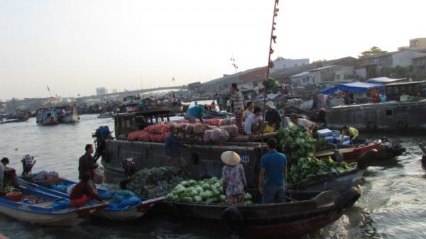 Cần Thơ: Chợ nổi Cái Răng gây ấn tượng mạnh cho người Nhật