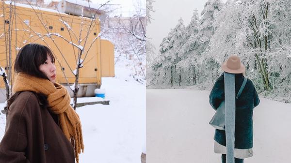 Trào lưu mới phấp phới khắp MXH: Share ảnh chơi tuyết nhân ngày lỡ hẹn với Sa Pa!