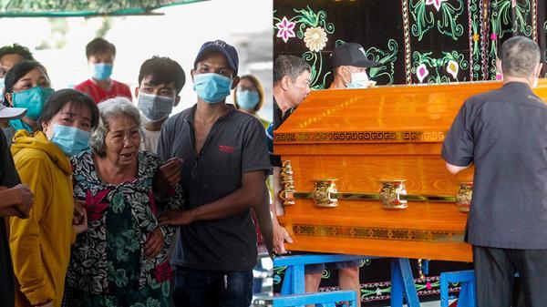 Nghẹn ngào đám tang 6 người trong gia đình tử vong do hỏa hoạn: Cha mẹ già khóc ngất nhìn mặt con cháu lần cuối