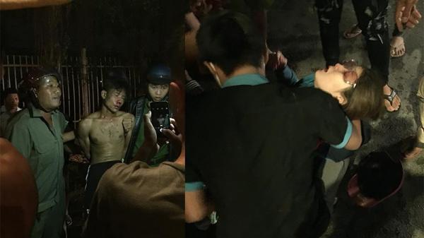 Kẻ ngáo cướp xe cảnh sát, kề dao vào cổ bà bầu