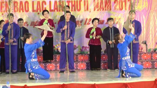 Bảo Lạc (Cao Bằng): Hội thi Hát dân ca - Trình diễn trang phục năm 2017