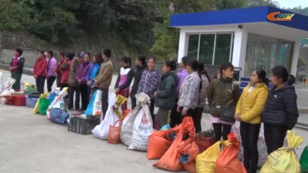 Trà Lĩnh (Cao Bằng): Tiếp nhận 22 công dân nhập cảnh trái phép